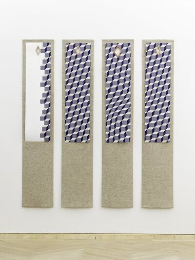 Angela Bulloch, 'Gang Of Four Wall Hanging 016', 2014