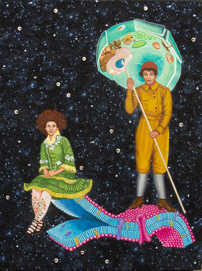 Lezley Saar, 'Not Born Under a Rhyming Planet', 2014
