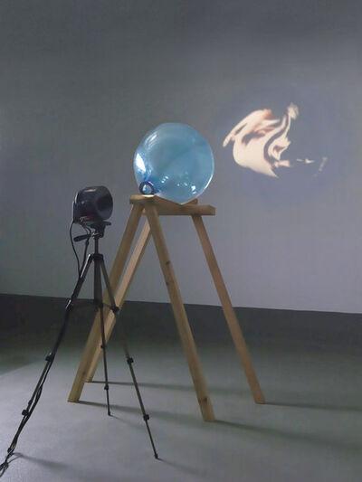 Tony Oursler, 'Blue Transmission', 2000