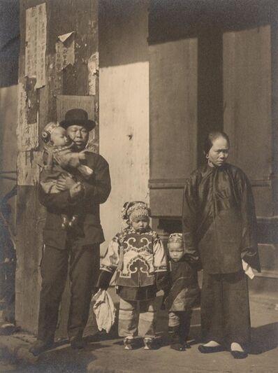 Arnold Genthe, 'Family portrait, Chinatown, San Francisco CA', circa 1895-1906