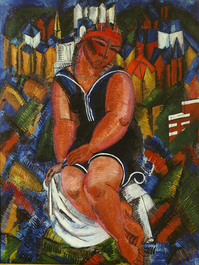 Raoul Dufy, 'Little Bather at Ste. Adresse', 1932-1933