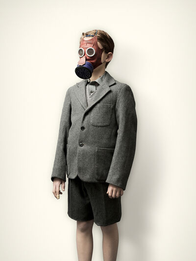 Jim Naughten, 'Evacuee with Mickey Mouse Gas Mask', 2008