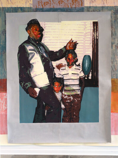 Tyanna J. Buie, 'Father and Sons', 2018