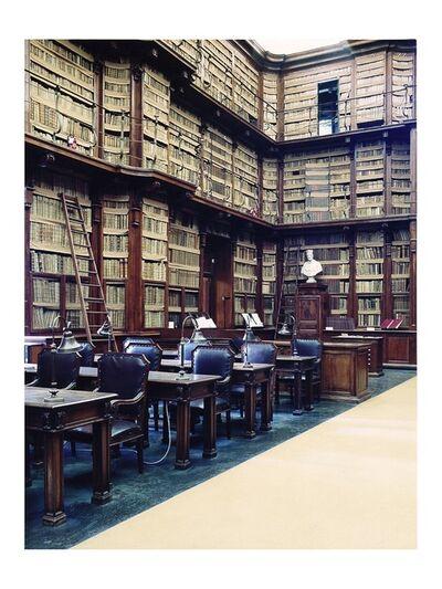 Candida Höfer, 'Biblioteca Angelica Roma II', 2003