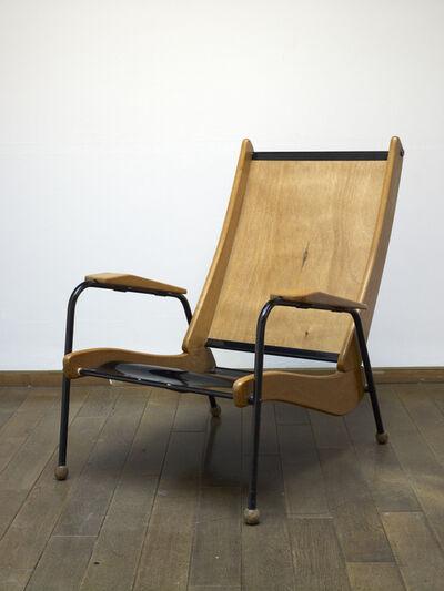 """Jean Prouvé, '""""Visiteur"""" Armchair', ca. 1950"""
