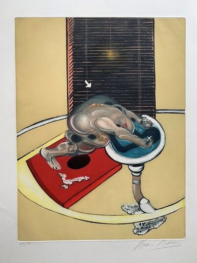 Francis Bacon, 'Figure at Wash Basin', 1978