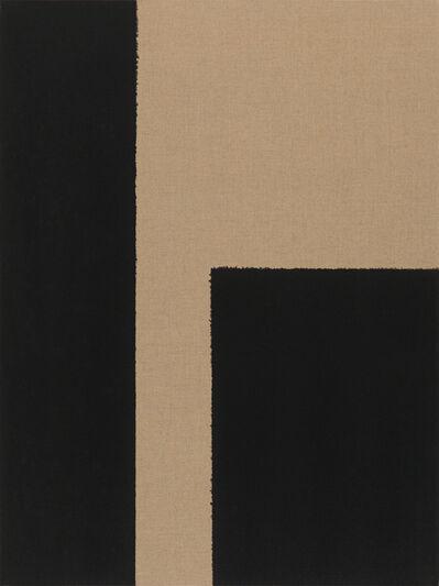Yun Hyong-keun, 'Burnt Umber & Ultramarine', 2002