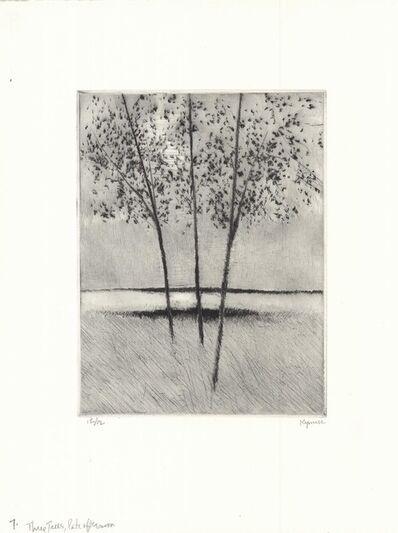 Robert Kipniss, 'Three trees, late afternoon.', 2018