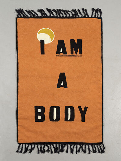 Baseera Khan, 'I AM A BODY', 2018
