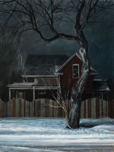 Nicola Nannini, 'Neve/Notte N.1', 2019