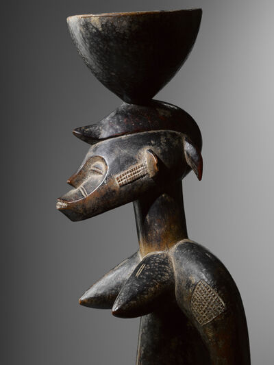 Unknown Senufo, 'Standing cup-bearer figure ', 19th century