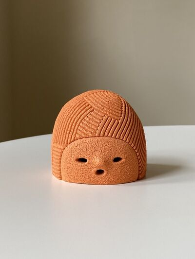 En Iwamura, 'Small Head (Orange)', 2018