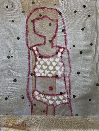 Ania Gonzalez, 'Bather Series No. 17 (Silver)', 2017