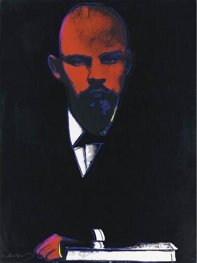 Andy Warhol, 'Black Lenin (FS II.402) ', 1987