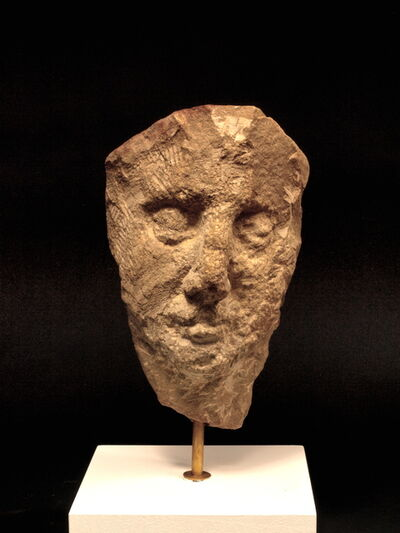Nicolas Carone, 'Umbrian Head in Stone, 3', 1981