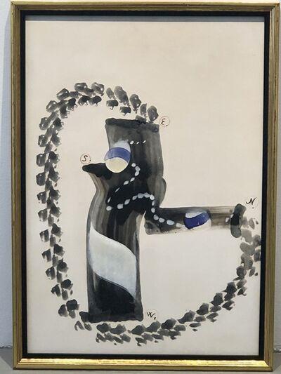 """Carl Frederik Reuterswärd, '""""Spel""""', 1963"""