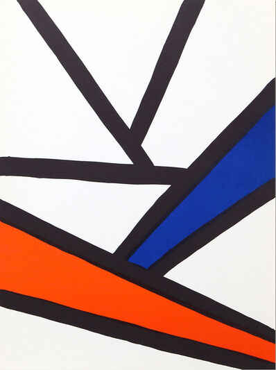 Alexander Calder, 'Intersections from Derrière le Miroir ', 1968