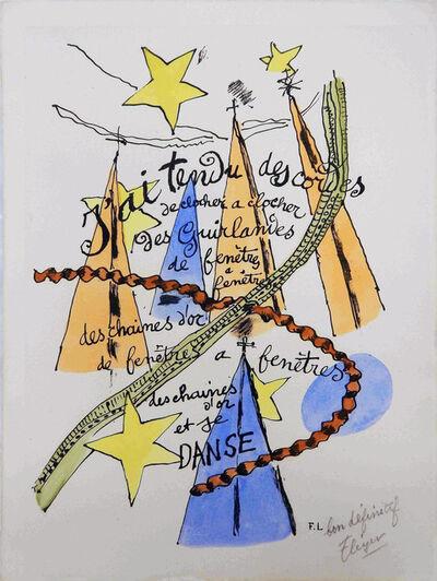 Fernand Léger, 'Phrases ', 1949