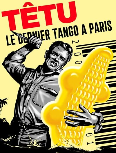 PHILIPPE GRIMAUD, 'LE DERNIER TANGO A PARIS (YELLOW EDITION)', 2019