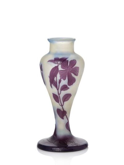 Galle, 'a cameo glass vase', c.1910