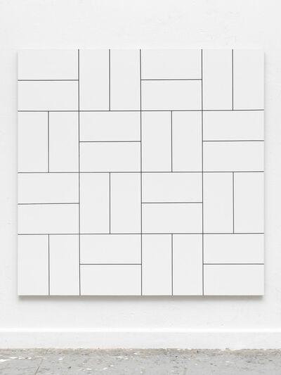 Gregor Hildebrandt, 'Morellet / Glass 32 Felder', 2017