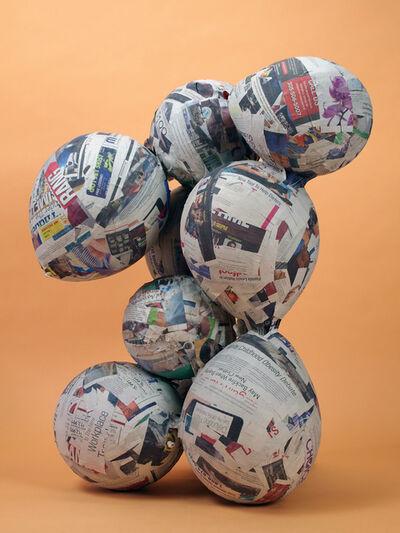 Nicolas Lobo, 'Balloon Collage 1', 2013