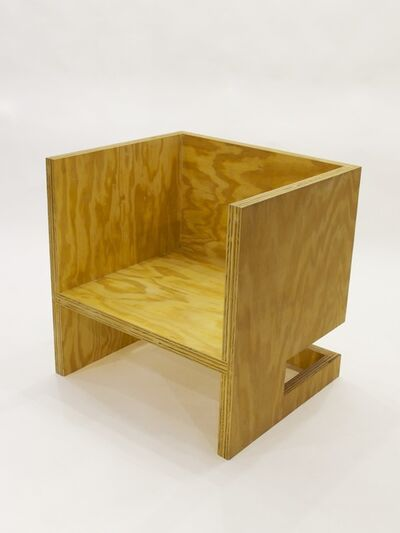 RO/LU, 'Cube Chair (+ Subtraction Upside-Down)', 2010