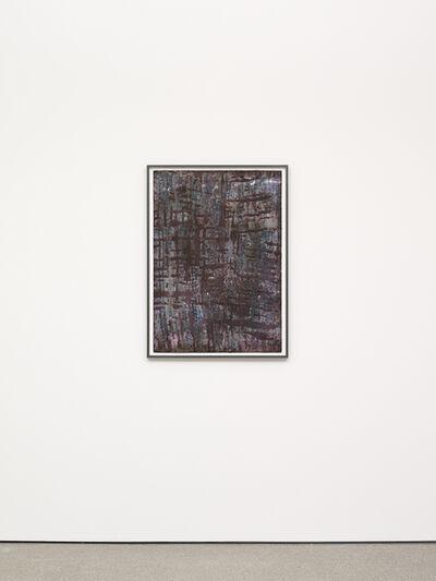 Terry Adkins, 'Purple Flow', 1989