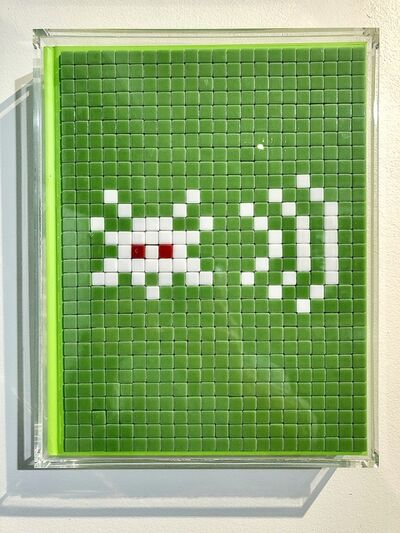 Invader, 'PARIS 2 - Invasion de Paris - WIFI', 2012