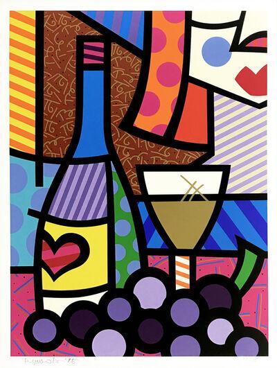 Romero Britto, 'TASTE OF LOVE', 1997