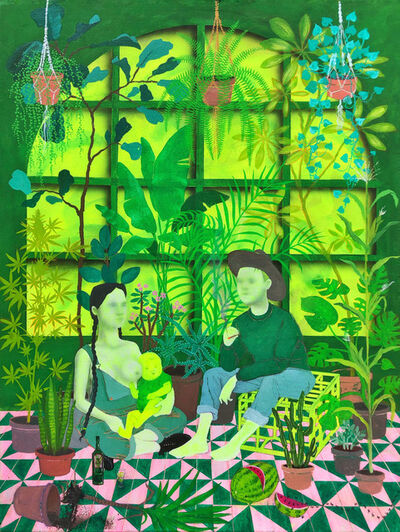 Alexander Churchill, 'Love in the Time of Anxiety 2 (the Growing Family)', 2019