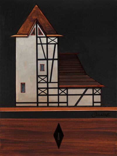 Titus Schade, 'Modellhaus Typ: Modernes Fachwerkmehrfamilienwohnhaus', 2018