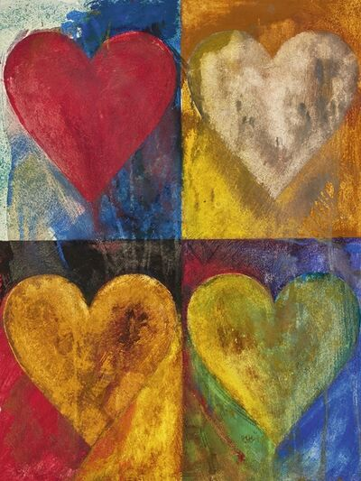 Jim Dine, 'Untitled (Hearts)', 1980