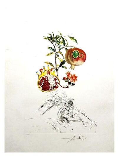 """Salvador Dalí, 'Original Lithograph """"Flordali - Angel and Pomegranate"""" by Salvador Dali', 1969"""