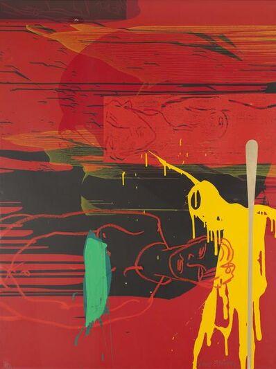 Bruce McLean, 'Horizontal Dawn', 1991