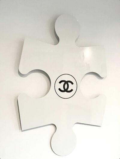 Auguste, 'White Chanel Puzzle ', 2020