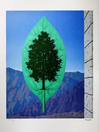 René Magritte, 'Le Dernier Cri (The Last Word)', 2004
