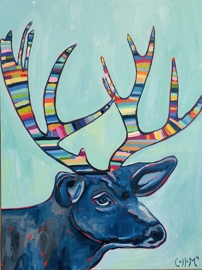 Tim Collom, 'Deer', 2019