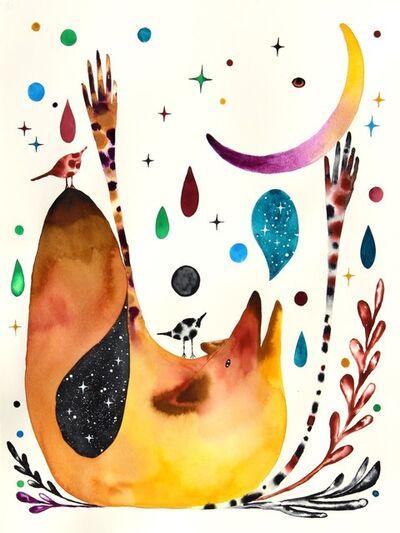 Masako Miki, 'Listening to the Crescent Moon', 2020