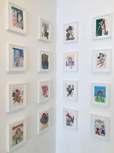 John Rivas, 'Untitled works on paper set ', 2019