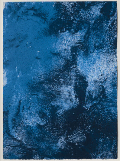 Joe Goode, 'Ocean Blue 23 (Color Test Print #6)', 1990