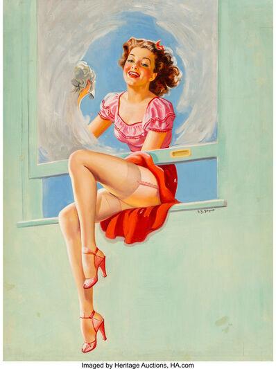 Ellen Barbara Segner, 'Good Looking calendar illustration', 1946