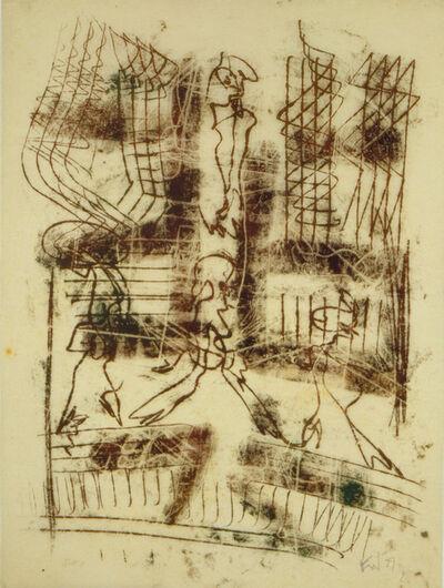Fritz Winter, 'Ohne Titel (4 Figuren) (Untitled (Four figures))', 1929