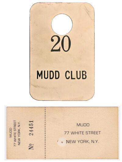 Andy Warhol, 'Mudd Club NYC, 4-PIECE SET, (1) Coat Check Stub, (3) Admission Tickets, circa. 1978-83', 1978-1983