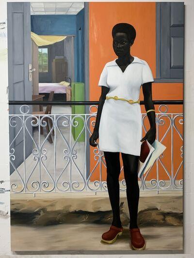 Peter Uka, 'Front yard things', 2020