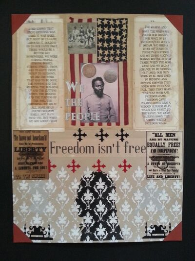 Curtis Woody, 'Freedom Isn't Free'