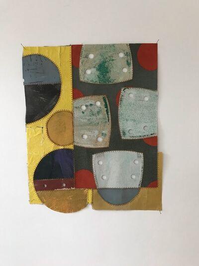 Marian Bijlenga, 'sandpaper collage', 2019