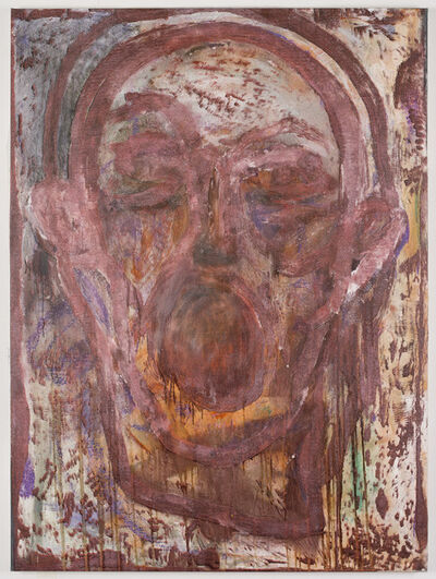 Jim Dine, 'Poet Singing in Vienna #2', 2016