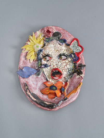 Natalie Frank, 'Woman, Mouth, Flower', 2021