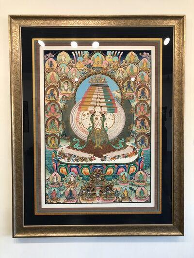 Karsang Lama, 'Thangka painting of Tibetan Goddess Dhakur', 2000-2005